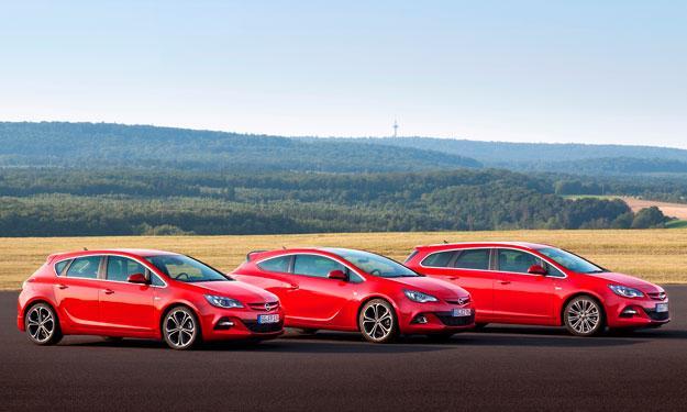 Gama Opel 2013 Astra