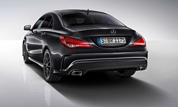 Mercedes CLA Edition 1 estética
