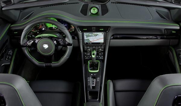 Porche 911 Carrera 4S TechArt salpicadero
