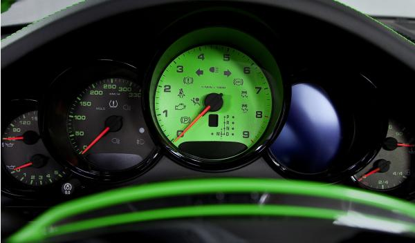 Porche 911 Carrera 4S TechArt cuadro relojes