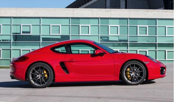 Porsche Cayman 2013 lateral