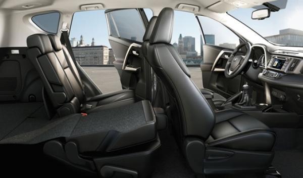 Asientos nuevo Toyota RAV4