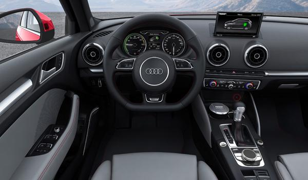 Audi A3 e-tron interior salon de ginebra 2013