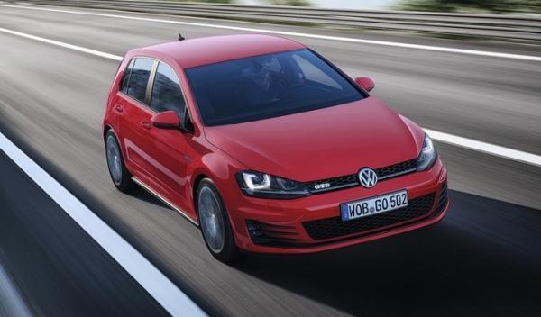 Delantera del Volkswagen Golf GTD 2013