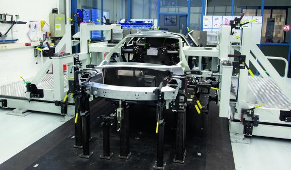 Volkswagen XL1 en construcción