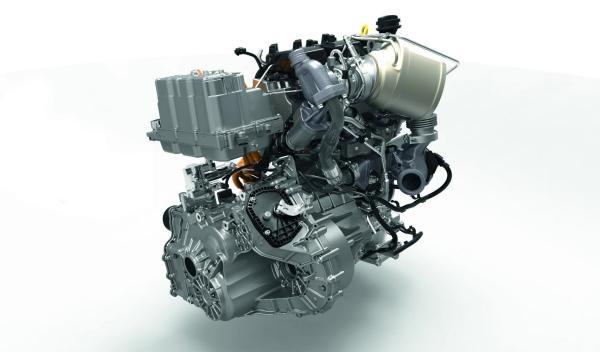 Motor diésel bicilíndrico del Volkswagen XL1