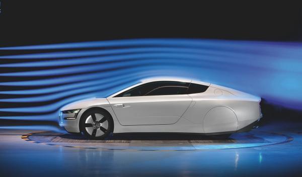 El coeficiente aerodinámico del Volkswagen XL1 es de 0,189
