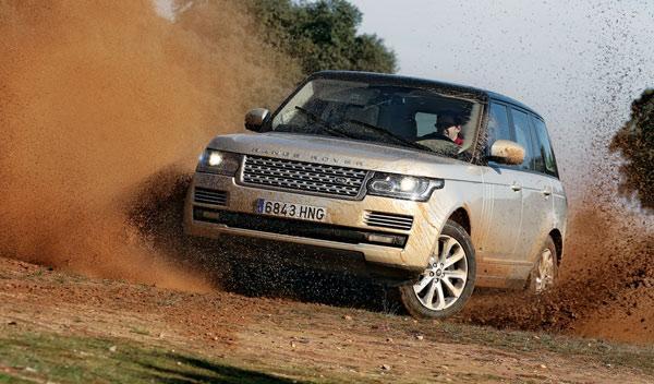Range Rover frontal