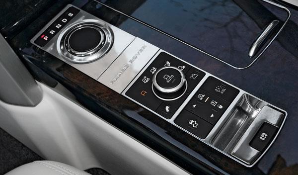 Range Rover 2013 Terrain Response