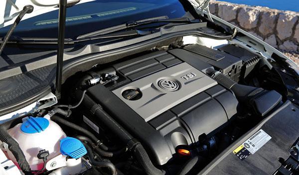 Volkswagen Golf R Cabrio motor TSI 265 CV