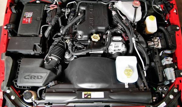Jeep Wrangler Moab motor