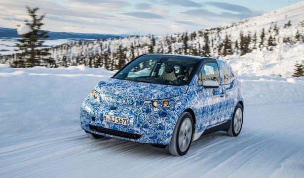 BMW i3 dinámica delantera