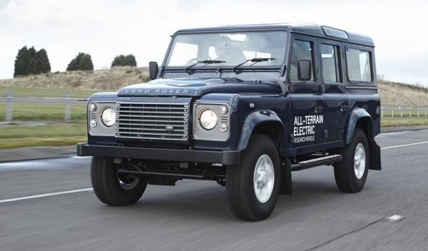 Land Rover Defender elécrico, dinámica