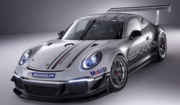 nuevo Porsche 911 GT3 Cup tres cuartos delantero