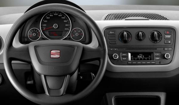 El nuevo Seat Mii Ecofuel 2014 volante