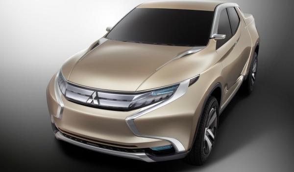 Mitsubishi GR-HEV Concept, delantera