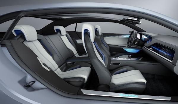 Subaru Viziv Concept asientos