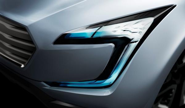 Subaru Viziv Concept faro