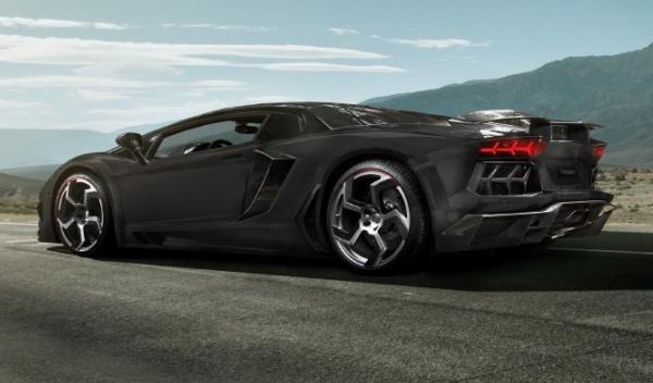 Lamborghini Aventador, trasera