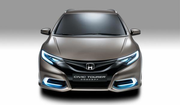 Honda Civic Tourer faros