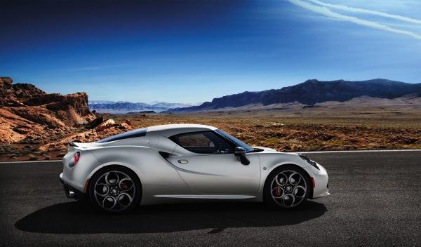 Alfa Romeo 4C Launch Edition lateral Salón de Ginebra 2013