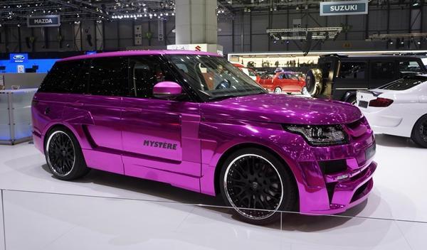 Hamann Mystère Range Rover 2013 perfil