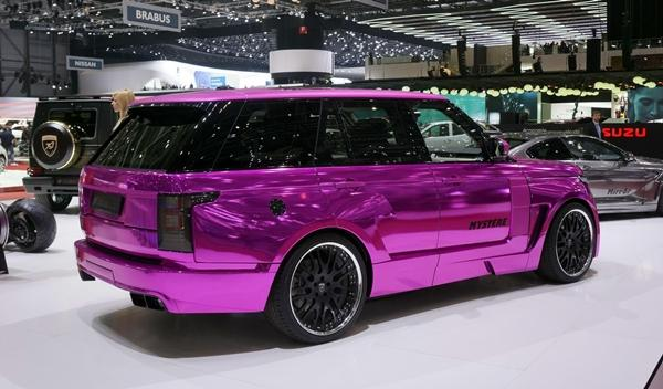 Hamann Mystère Range Rover 2013 trasera