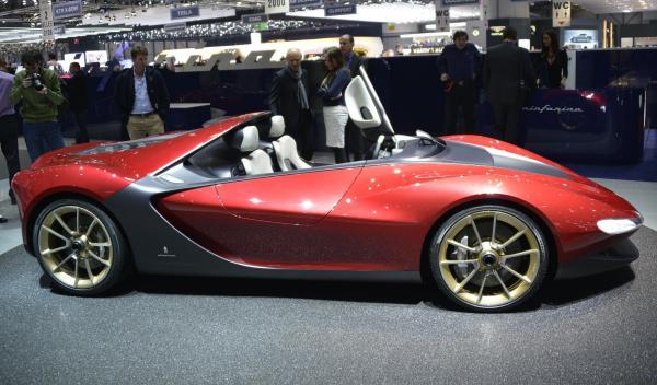 Pininfarina Sergio Concept Salon de Ginebra 2013