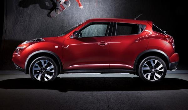 Nissan Juke n-tec, perfil