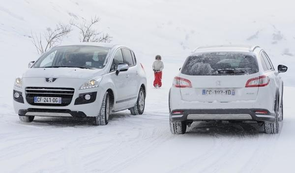 Peugeot Hybrid4 alpes 3008 y rxh