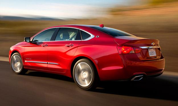 Chevrolet Impala 2014 motores