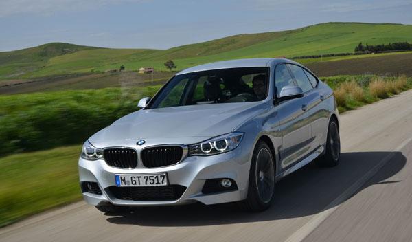 BMW Serie 3 Gran Turismo dinámica delantera