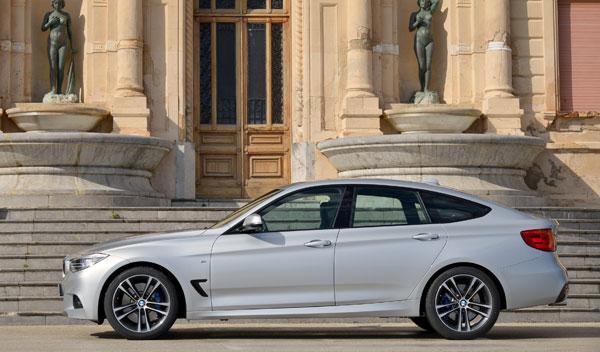 BMW Serie 3 Gran Turismo estática lateral