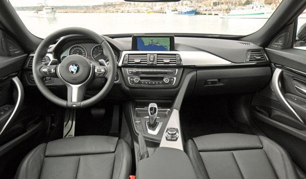 BMW Serie 3 Gran Turismo interior salpicadero
