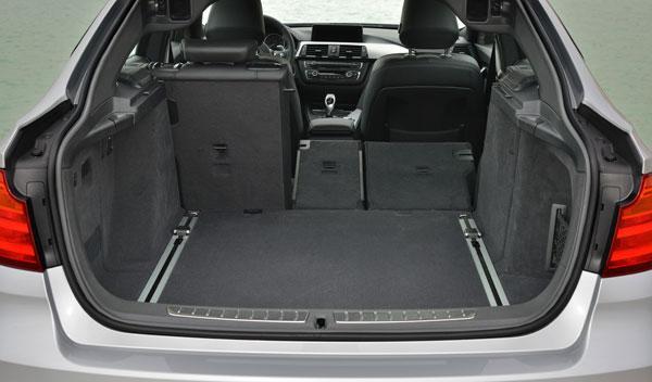 BMW Serie 3 Gran Turismo maletero