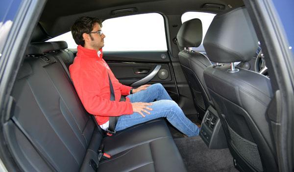 BMW Serie 3 Gran Turismo plazas traseras