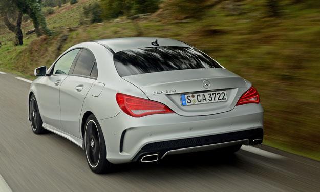 Mercedes CLA motores