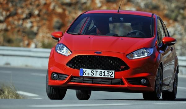 Ford Fiesta ST 2013 naranja