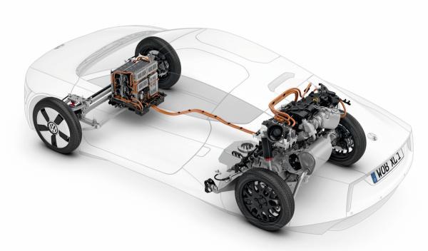 Volkswagen XL1 motor