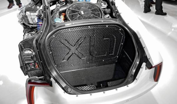 Volkswagen XL1 maletero