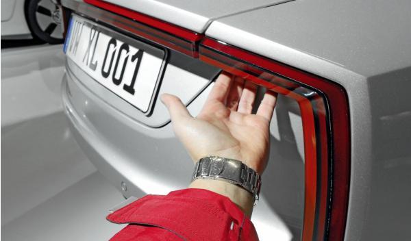 Volkswagen XL1 detalle trasero 'Attika'