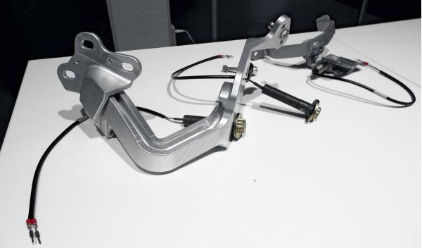 Volkswagen XL1 bisagras