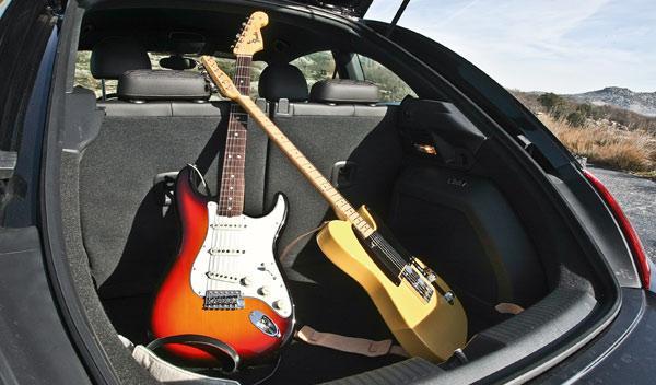 Volkswagen Beetle Fender Edition maletero Fender Stratocaster Telecaster