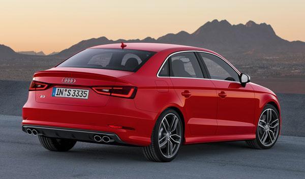 Audi A3 Sedan longitud