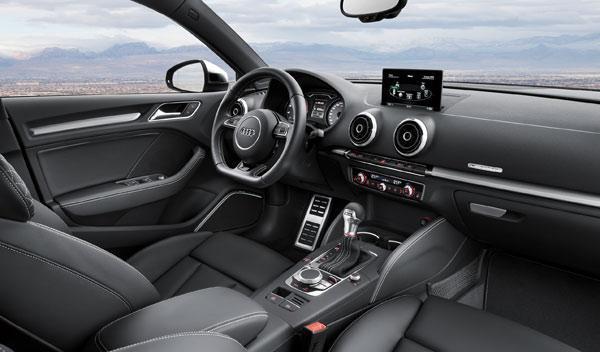 Audi A3 Sedan interior