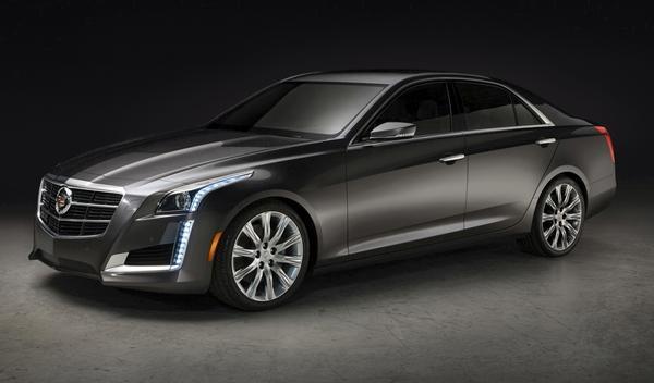 Cadillac CTS 2014 delantera