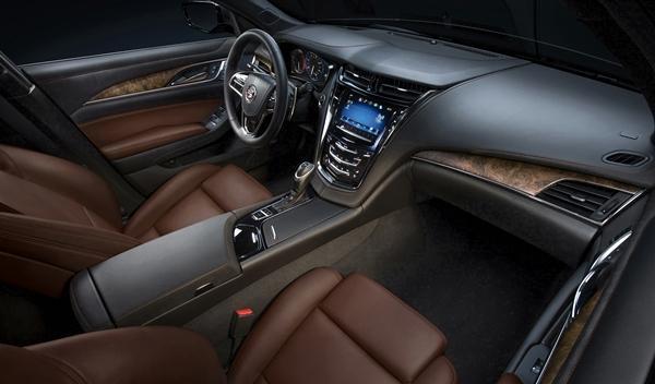 Cadillac CTS 2014 interior