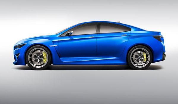 Subaru WRX Concept 2013 lateral