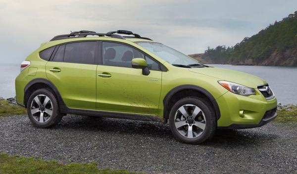 Subaru XV Crosstrek Hybrid, perfil