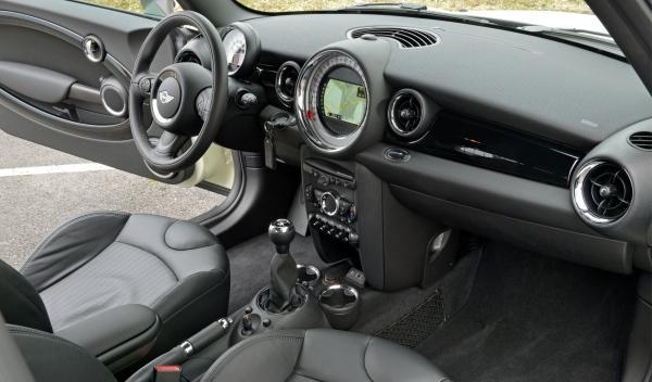 MINI Clubvan, interior